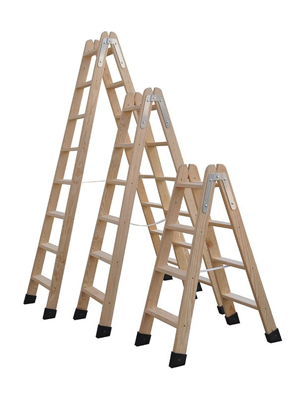 Escaleras en tijera for Escaleras 10 peldanos de tijera