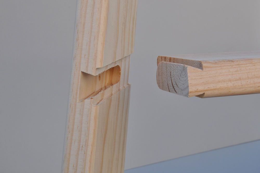 F brica de escaleras de madera en getafe escaleras - Fabricas de madera ...